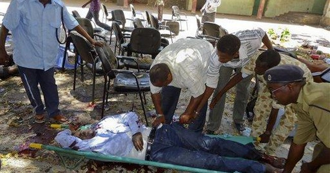 Somali theater bombing kills 10, shatters calm