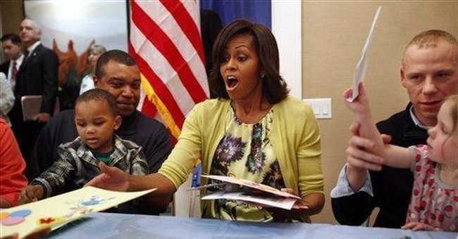 First lady boosts on-base jobs for service spouses