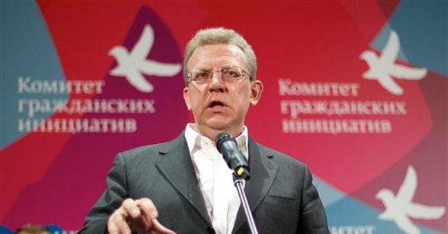 Veteran Russian official sets up opposition group