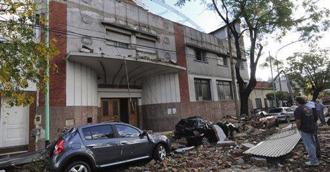 Storm kills at least 13 in Argentine capital area