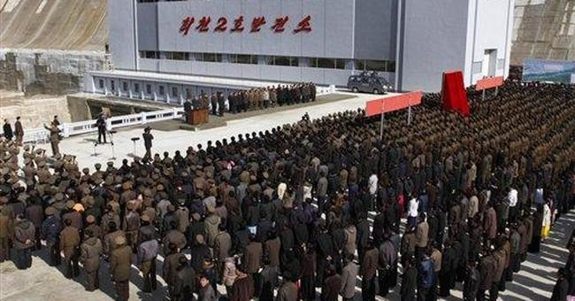 North Korea opens nation's biggest power station