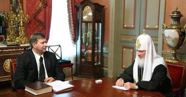 Russian Orthodox patriarch's watch causes buzz