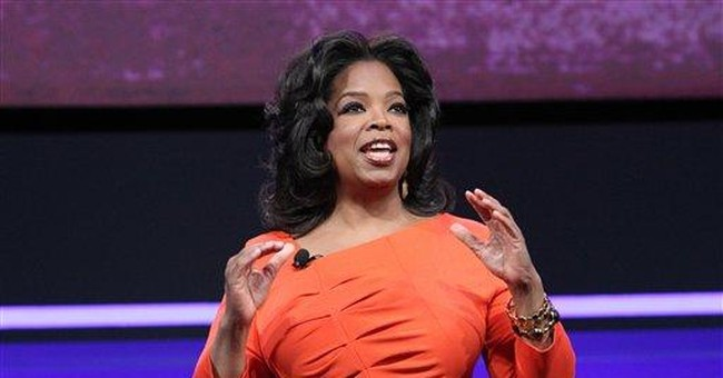 Oprah calls her new cable venture a tough climb