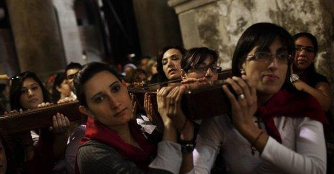Christians mark Good Friday in the Holy Land