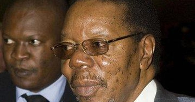 Doctors: Malawi president dies after heart attack