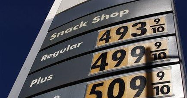 Spring: A time for flowers, high gasoline prices