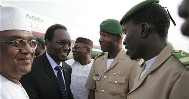 Mali's parliamentary head returns from exile