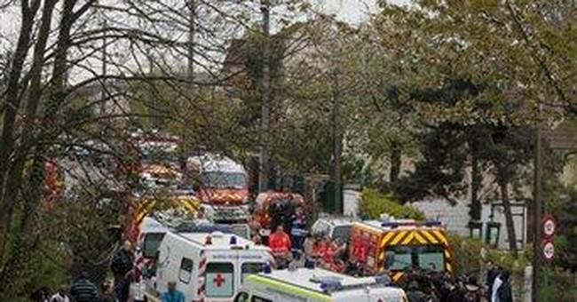 6-year-old dies in France floor collapse