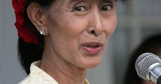 Myanmar's Karen rebels meet with Aung San Suu Kyi