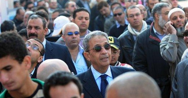 Egypt military backs Mubarak's VP for president