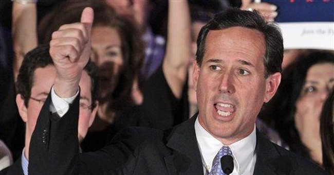 Townhall Magazine's May Issue Preview: Rick Santorum's Blue Collar Conservatism