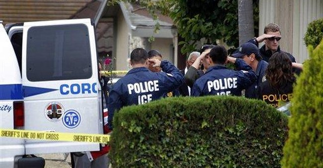 Busted: 75 Percent Of Illegal Aliens Rounded Up Over The Weekend Had Criminal Records