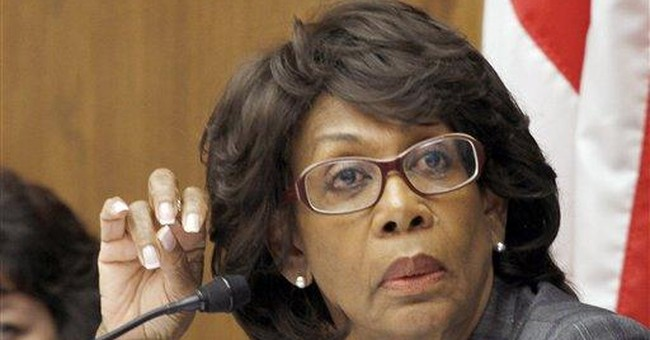 Maxine Waters Set to Run Finance if Dems Win House in '14