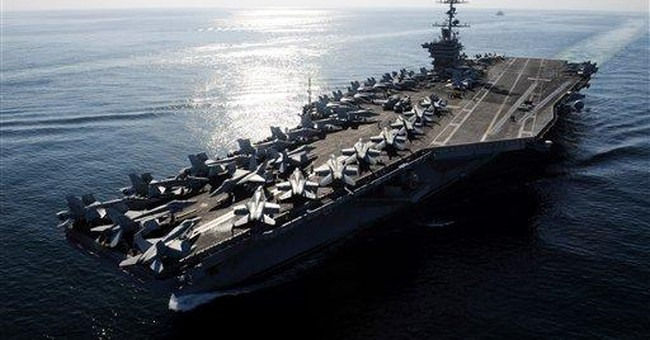 Iran Launches Mock US Aircraft Carrier for Target Practice