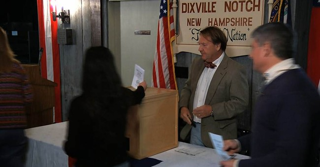 Clinton Wins Midnight Dixville Notch Vote In New Hampshire