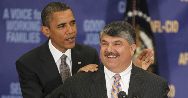 AFL-CIO Realizes They Can't Keep Their Union Healthcare Plans Under Obamacare