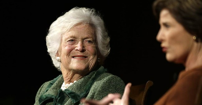 Breaking: Former First Lady Barbara Bush in Failing Health