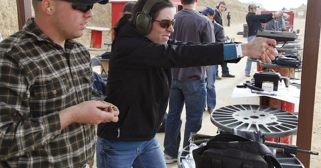 Women Continue To Line Up For Concealed Carry Permits