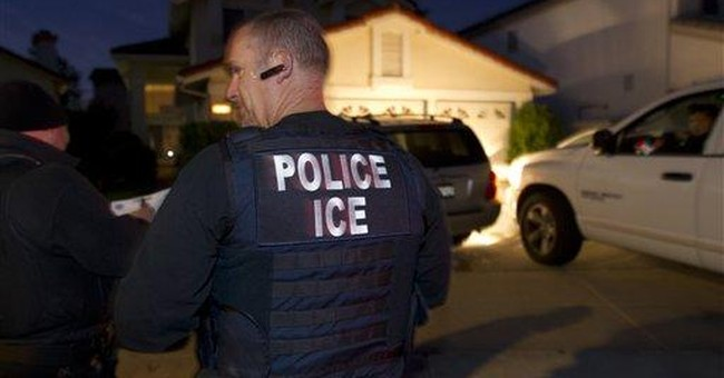 BUSTED: Almost Three-Fourths Of All Illegals ICE Arrested In 2017 Had Criminal Records