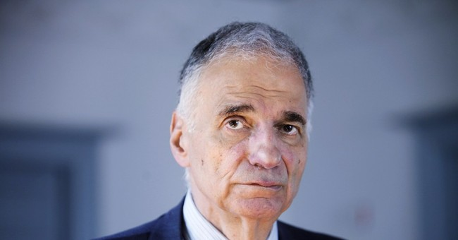 9 years after loss, Nader fights campaign tactics