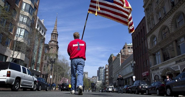Moment of silence held for Boston marathon victims
