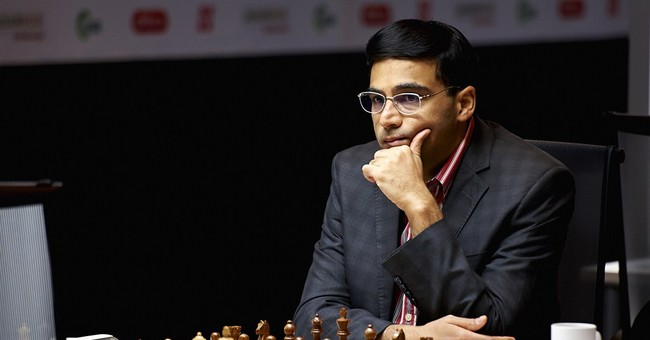 Chess world champion Anand draws against Carlsen