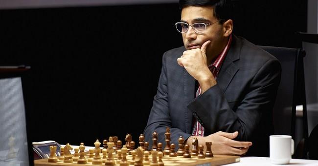 Chess world champion Anand draws against Carlsen