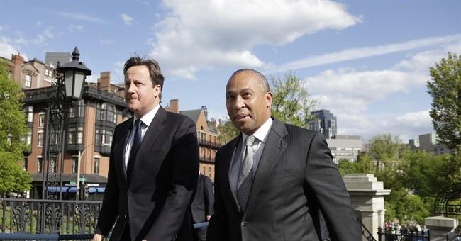 British PM visits Boston to discuss marathon bombs