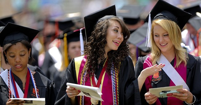 AP PHOTOS:  College commencements across nation