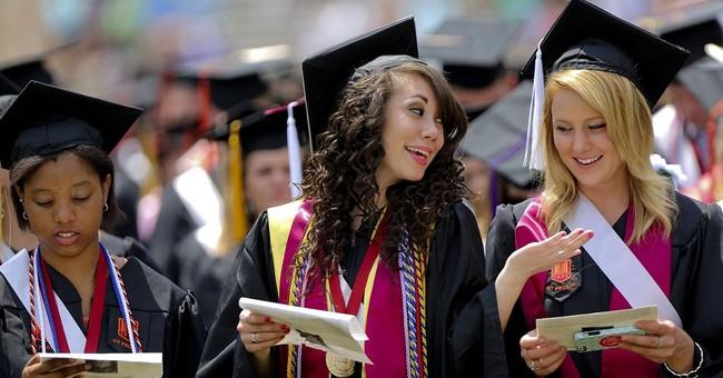 AP PHOTOS:  College commencements across nation