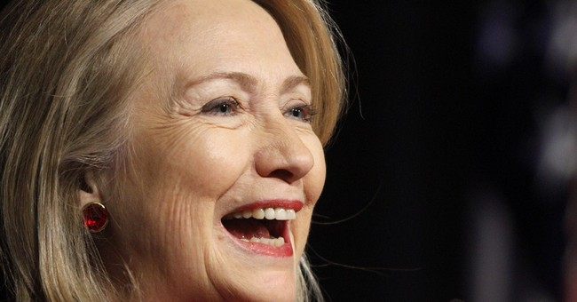 Hillary Clinton accepts humanitarian award in NYC