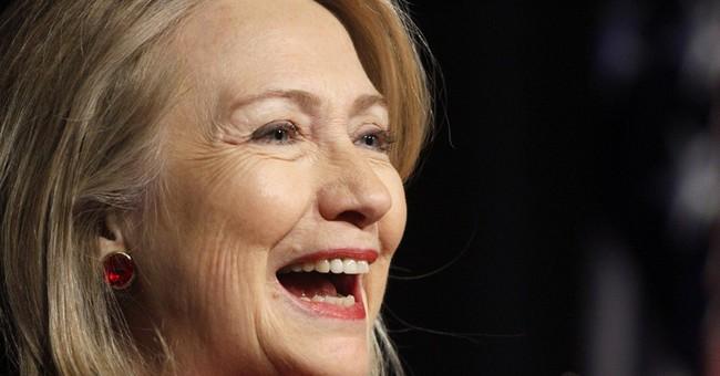 Hillary Clinton accepts humanitarian award in NYC
