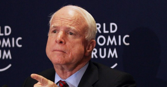 McCain: Syrian rebels need heavy weapons