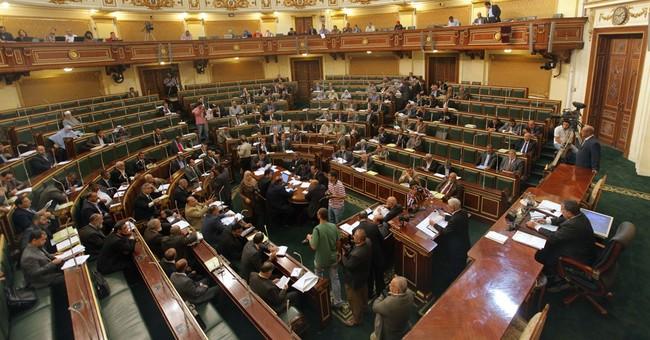 Egypt's long-scorned legislature deepens rift