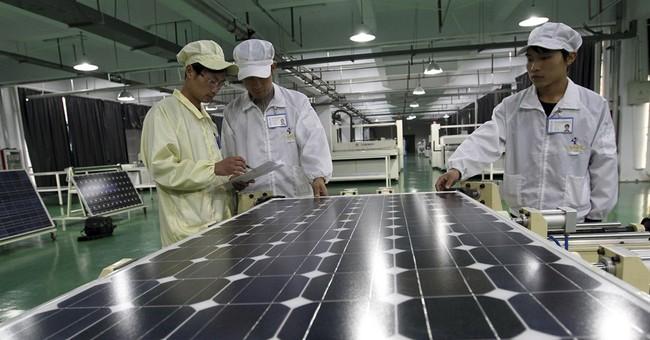 EU slaps levies on Chinese solar panel imports