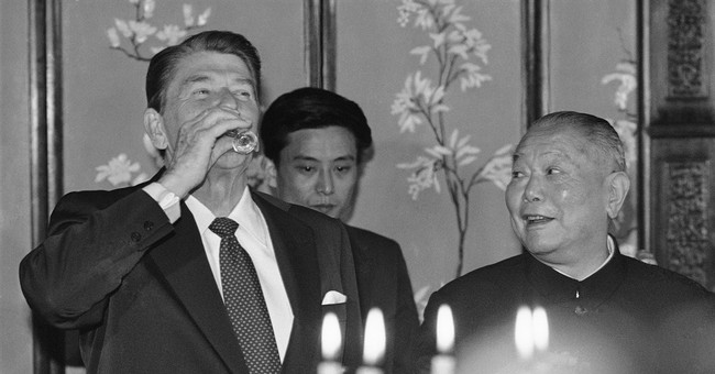 AP PHOTOS: When US presidents, China leaders meet
