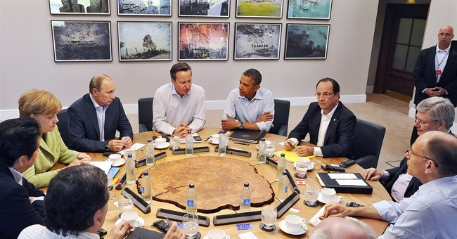 Obama's influence, limitations on display at G-8