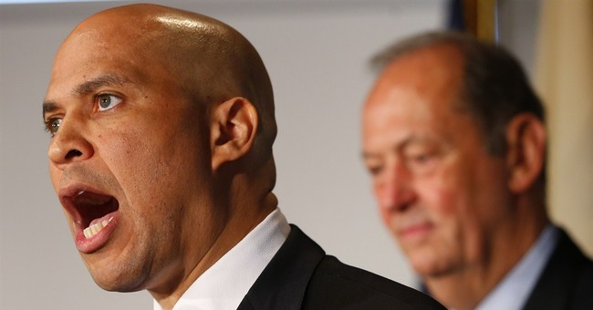 Booker encounters bumps on possible path to Senate