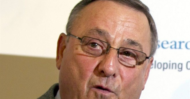 Maine governor's vulgar remark criticized