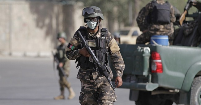 Taliban attack presidential palace in Kabul
