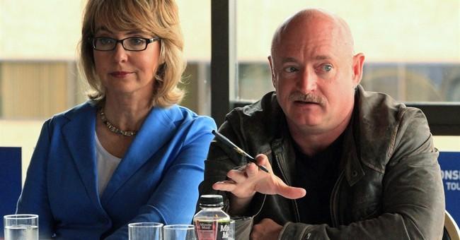 Kelly and Giffords lobby in Alaska for gun control