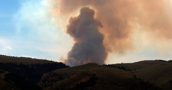 Wildfire near Lander, Wyo., 47 percent contained
