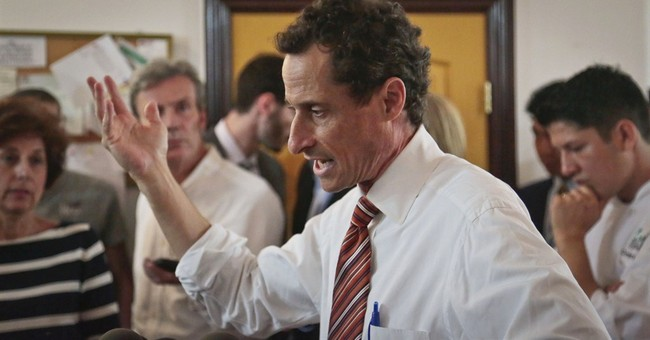 Weiner falls to 4th in new NYC mayoral poll
