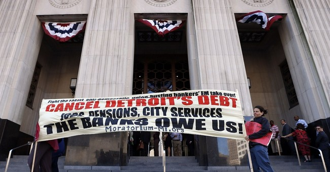 Detroit bankruptcy another setback for unions