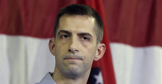 Cotton announces bid for US Senate seat in Ark.