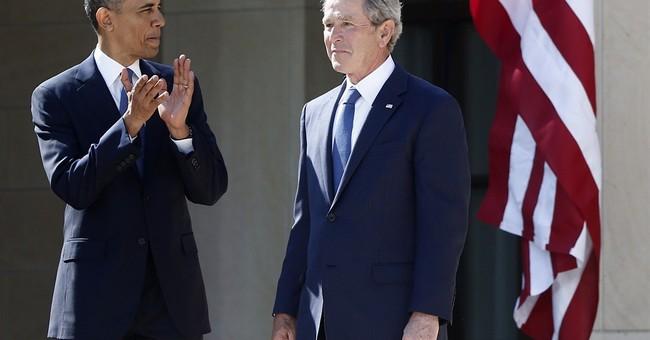 Correction: Obama-Bush story