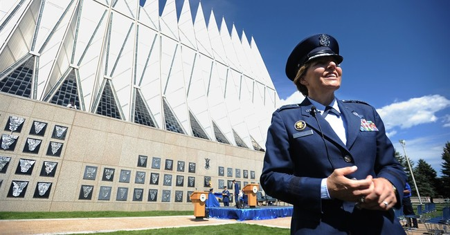 Air Force Academy gets 1st female superintendent