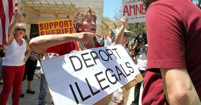 Immigration activists rally in Bakersfield, Calif.