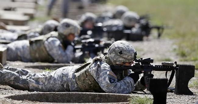 Troops: Women should meet same standards as men