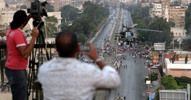 Media in Egypt stoke the heat _ and now feel it